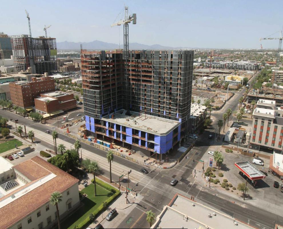 ASU Downtown Construction Progress