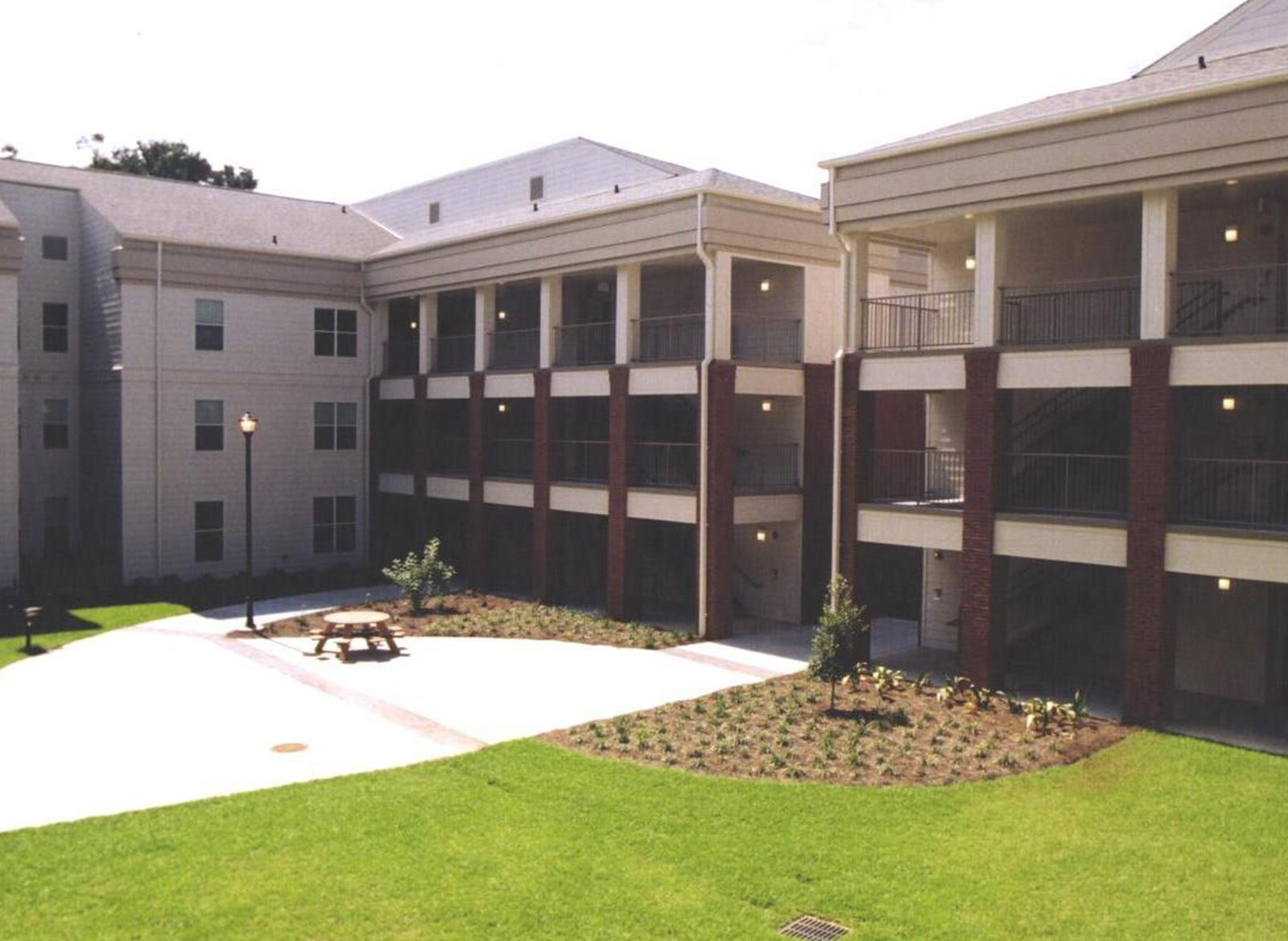 Southern Pines And Southern Courtyard Capstone